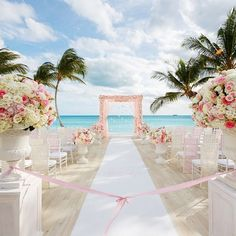 With the talented @ColinCowie Celebrations team curating each moment, the bride's vision of a romantic pink and gold wedding on the beach proved to be spectacular. Check out this wedding on ColinCowieWeddings.com now! Congratulations!@ash_burnham #burnhamwedding2015 #teamcowie #destinationwedding