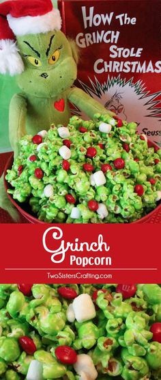 Grinch Popcorn...plus other good Holiday recipes!!