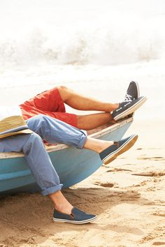 Can we lounge like this on a boat someday in fabulous summer attire, pleaseeeee? Sailing Shoes, Boat Shoes, Summer Boy, Summer Time, Looking Dapper, Nautical Fashion, Lake Life, Well Dressed Men, Fashion Essentials