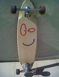 Ed, Edd n' Eddy themed Plank longboard. Petrus you need to do this when you get a longboard Skateboard Deck Art, Skateboard Design, Surfboard Art, Kids Cartoon Characters, Cartoon Kids, Skate Bords, Girls Skate, Surf Girls, Vans Girls