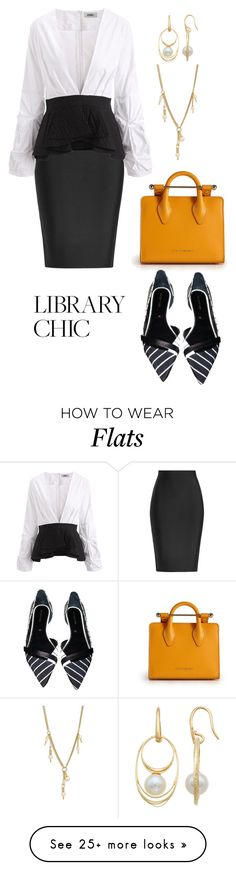 """Untitled #2628"" by nadia-n-pow on Polyvore featuring Roland Mouret, Strathberry, Sergio Rossi, PearLustre by Imperial, Chloé and finals"