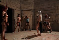 LARA IN PERIL by amazon-warriors
