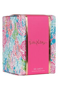 Free shipping and returns on Lilly Pulitzer® Candle at Nordstrom.com. Add to the cozy atmosphere of any space with a scented soy-blend candle in a brightly patterned glass tumbler.