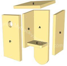 birdhouse parts