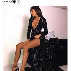 I need this dress😍|| SHOP LINK IN BIO 🛍 • FOLLOW : @ooh_cherry @ooh_cherry they have the cutest clothes💗 • • • • • #shopping #shoppingonline #shopaholic #dresses #clothes #clothing #sale #heels #fashion #blogger #fashiondesigner #bblogger #shoppingday #cute #blackdresses #fashionblog #fashionblogger #fashionbloggers #style #fashionista #bloggers #makeup #beauty #stylish #fashionblogs #fashionweek #dress #promdress #promdresses Prom Dresses, Formal Dresses, Cute Outfits, Elegant, Stylish, Cherry, Fashion Design, Silhouette, Shopping