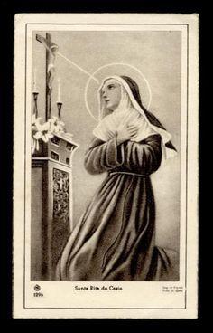 St Rita of Cascia | www.saintnook.com/saints/ritaofcascia | St Rita Pray 4 Us