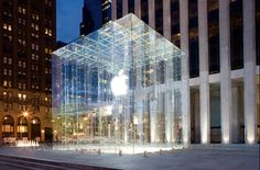 Apple Store (Cube) 5th St. New York City