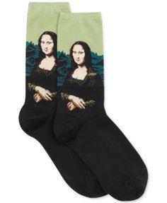 Hot Sox Women's Trouser with Artist Print Socks