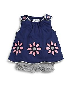 Hartstrings - Infant's Two-Piece Floral Swing Top & Bloomers Set - Saks.com