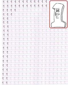 Bildresultat för FISE SCRIERE CIFRE Alphabet Tracing Worksheets, Handwriting Worksheets, Preschool Worksheets, Math Notes, Preschool Writing, Kids Study, Montessori Materials, Math For Kids, Feather Pens