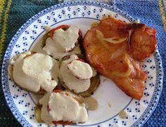 mami&baby: KitchenLittle / PequeCocina Chuletas Ahumadas al horno