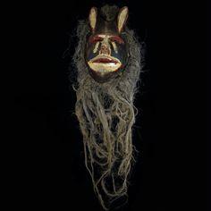 Chewa Nyau Anthropo Zoomorphic Mask  - Zambia - Katete District Masks, African, Face Masks
