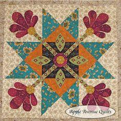 Apple Avenue Quilts: Quilt's Etc. BOM