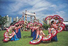 단오축제의 부채춤