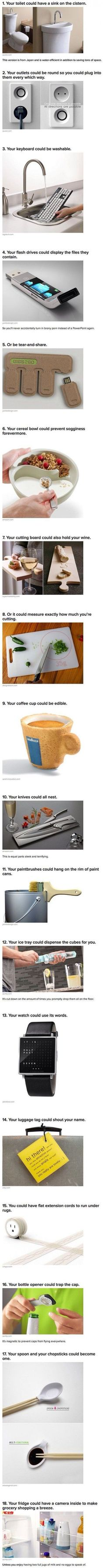 New And Incredibly Brilliant Inventions That We Should - 20 strange awesome inventions need life