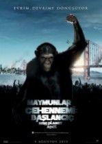 Maymunlar Cehennemi 7 Başlangıç (2011) Türkçe Dublaj izle