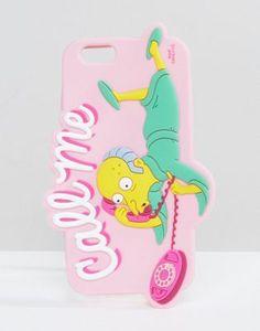 """Чехол для iPhone 6/6S с изображением Мистера Барнса и надписью """"Call Me"""" Skinnydip x The Simpsons"""