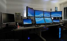 The (new) Famous Home Office by Stefan Didak, via Flickr