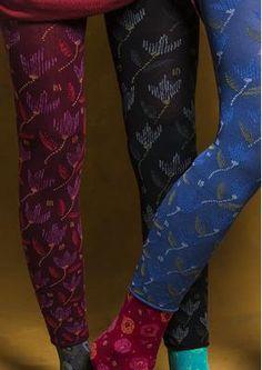"""Leggings """"Tulipas"""" made of recycled polyamide / elastane 75806-55.tif"""