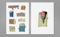 The Wallery : JUDIT CANELA/ Illustration/ G.Design