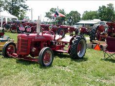 Lowrider tractor.
