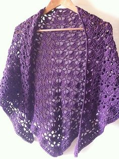 another one of my south bay shawls! One never has enough! Disou Crochet Creations  Link to free pattern: http://www.lionbrand.com/patterns/90489AD.html