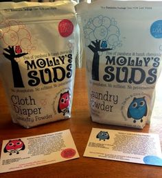 Molly Suds Cloth Diaper detergent GIVEAWAY!