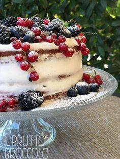 Naked Cake Estiva è una nuova e deliziosa ricetta vegana tutta da scoprire, cosa aspetti? Il Brutto Broccolo Vegan Life Food Blog