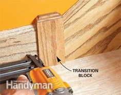 Learn better ways to cut and install casing, baseboard and crown molding, tricks for hanging doors and avoiding bad transitions, and other secrets of the trim carpentry profession. Baseboard Molding, Base Moulding, Moldings And Trim, Stair Moulding, Crown Moldings, Wainscoting, Stairs Trim, Decorative Wood Trim, Trim Carpentry