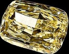 The Golden Eye Diamond: The world's largest flawless Canary Yellow diamond. Its original uncut 124.5-carat state. This particular type of diamond - a fancy intense yellow - accounts for less than 0.1 percent of all natural diamonds, so you can imagine how rare one this size is. The gem was cut to a still-huge 43.51 carats and somehow became entangled in a drug dealing and money laundering ring in Ohio, which was busted in 2006. As a result, the unusual jewel became property of the U.S. gov