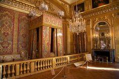 Appartement_du_Roi_(Versailles). Спальня короля в Версале.