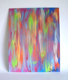 Abstract Canvas Art 8x10 Abstract Art Abstract by MadeByTheHearth