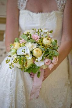 Love peonies and garden roses
