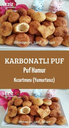 Puff pastry with carbonated puff pastry (without eggs) - Sobremesa Turkish Recipes, Italian Recipes, Turkish Breakfast, Turkish Sweets, Fish And Meat, Fresh Fruits And Vegetables, Dog Food Recipes, Catering, Breakfast Recipes