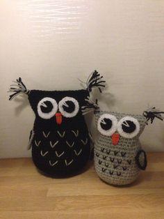 Virkade ugglor Crochet Owls, Tejidos