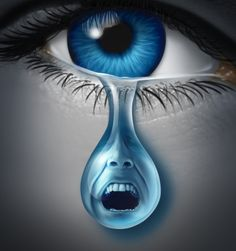 """""""Mental pain is less dramatic than physical pain, but it is more common and also harder to bear. The frequent attempt to conceal mental pain increases the burden. Lewis, The Problem of Pain Crying Eyes, Realistic Eye Drawing, Human Eye, Cs Lewis, Eye Art, Surreal Art, Beautiful Eyes, Dark Art, Fantasy Art"""