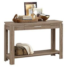 Console Table Dark Taupe - ACME