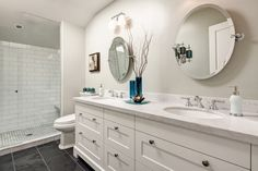 Oriole - Contemporary - Bathroom - other metro - by Frahm Interiors - Burlington ON