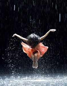 Not just any rain dance