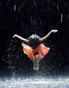 Not just any rain dance