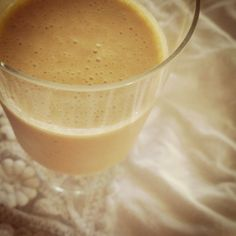 Morning Smoothie: 3/4c almond milk, 1/2c nonfat vanilla yogurt, 5 pitted dates, 1 banana, 1 carrot, 1T peanut butter, 1T flax seed, handful of ice; blend.  #vitamix #smoothie