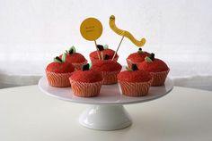 apple cupcakes tutorial!