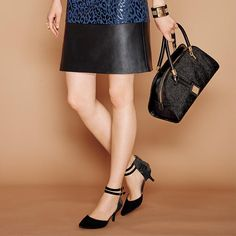 mark. By a Hair Satchel, On The Double Heel, and Layered Up Cuff!  | Avon #fallstyle #accessories #fallfashion