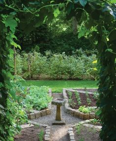 Potager Garden Pottage - and idea for the pond - Being There—Red Mill Farm Image Gallery - Cottages Potager Garden, Garden Edging, Garden Beds, Vegetable Garden, Garden Landscaping, Garden Plants, Farm Images, Landscaping Supplies, To Infinity And Beyond