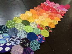 WIP Wednesday – Hexagons, Embroidery, and Plastic Canvas