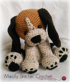 Ravelry: Rusty the Beagle Pup pattern by Meredith May