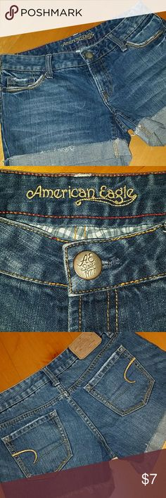 😘Nice Shorts😘 Cutoff rolled shorts from American Eagle. New Without TAG. American Eagle Outfitters Shorts Jean Shorts