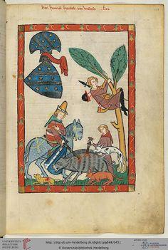14th centuryUniversitätsbibliothek Heidelberg, Cod. Pal. germ. 848: Universitätsbibliothek Heidelberg, Cod. Pal. germ. 848 Große Heidelberger Liederhandschrift (Codex Manesse) (Zürich, ca. 1300 bis ca. 1340)