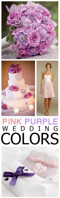 Pink & Purple Wedding Color!!!