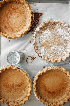 """Sugar Cream Pie Recipe (One taste of this sugar cream pie and you'll understand exactly why it's known by those addicted to it as """"Crack Pie."""")"""